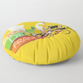 Tour De France Floor Pillow
