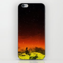 Burning Hill iPhone Skin
