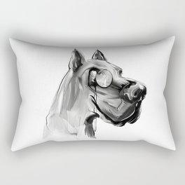 dear dog Rectangular Pillow