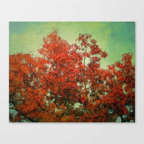 October Finale Canvas Print