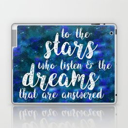Dreams That Are Answered Laptop & iPad Skin