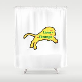 Senegal Les Lions de la Téranga (The Lions of Teranga) ~Group H~ Shower Curtain