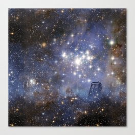 Adventures in Time and Space Canvas Print