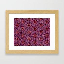 Plum Framed Art Print