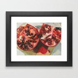 Pomegranite Framed Art Print