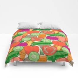 Vegetables Comforters