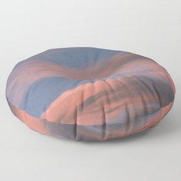 Pink Sunset Floor Pillow