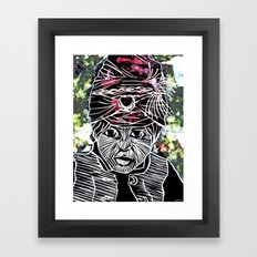 VISHNU Framed Art Print