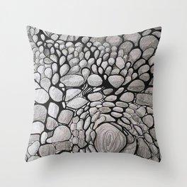 EL TIEMPO APREMIA Throw Pillow