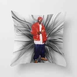 Big L  Throw Pillow