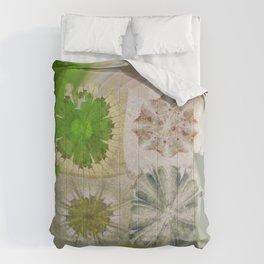 Grasshouse Configuration Flower  ID:16165-050526-69250 Comforters