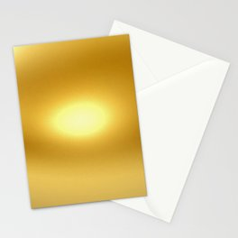 New Gold Stationery Cards