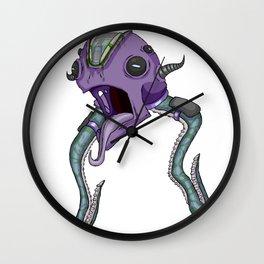 Octo-Seeker Wall Clock