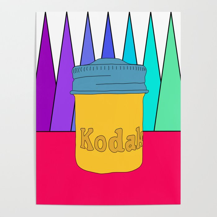 vintage kodak film canister Poster by oranacreative