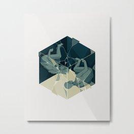 Cube 04 Metal Print
