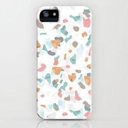 Italian terrazzo iPhone Case