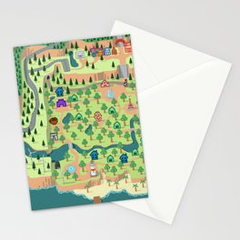 Animal Crossing (どうぶつの 森) Stationery Cards