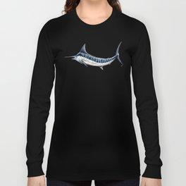 Blue Marlin (Makaira nigricans) Long Sleeve T-shirt