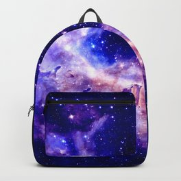 indigo galaxy : Celestial Fireworks Backpack