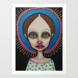 Little holy Art Print