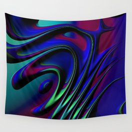 Riddles Fractal Wall Tapestry