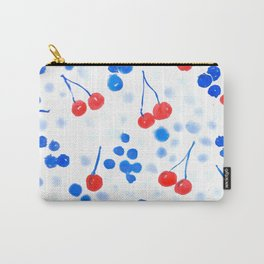 Cherries & Bluberries Carry-All Pouch