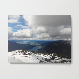 mountain top Metal Print