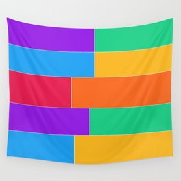 Patched Together Wall Tapestry
