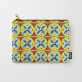 Heraldic Stripe Carry-All Pouch