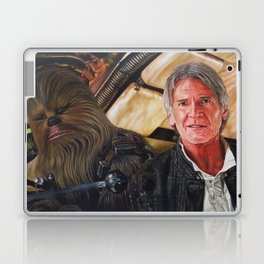 Han Solo and Chewbacca Returns Laptop & iPad Skin