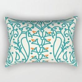 Armenian Ceramic Art Rectangular Pillow