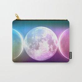 Moon Triple Goddess Rainbow Carry-All Pouch