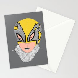 Little Lucha Libre  Stationery Cards