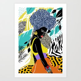 Crown Queen Art Print