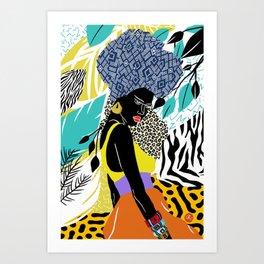 Crown Queen Art Print