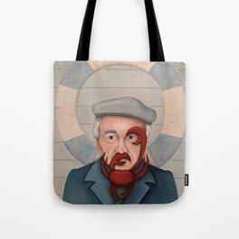 Crab Beard Tote Bag