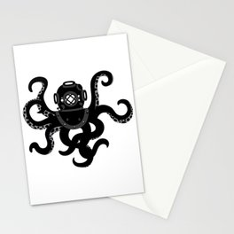 Octo Dive Stationery Cards