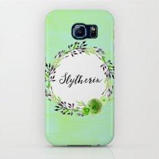 HP Slytherin in Watercolor Slim Case Galaxy S7