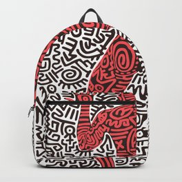 Into 84 after Keith Haring Backpack