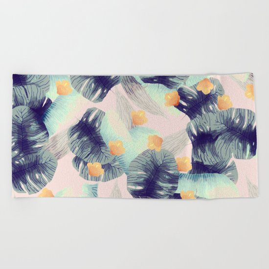 Romantic rainforest Beach Towel
