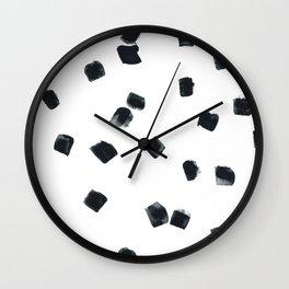Square Dots #1 Wall Clock