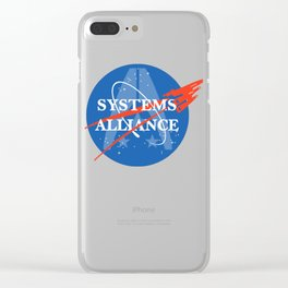 NORMANDY AERONAUTICS AND SPECTRE ADMINISTRATION Clear iPhone Case