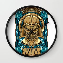 Darth Vaper Wall Clock