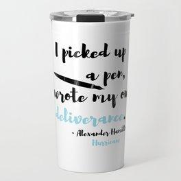 deliverance, hamilton Travel Mug