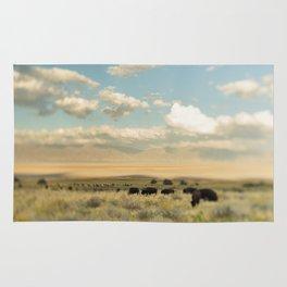 Where the Buffalo Roam Rug