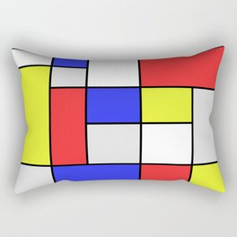 Mondrian #25 Rectangular Pillow
