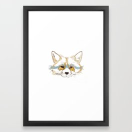 Foxee Framed Art Print