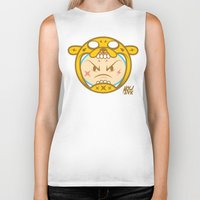 finn and jake Biker Tanks featuring Jake & Finn  by Miguel Manrique