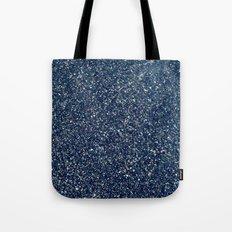 Black Sand II (Blue) Tote Bag
