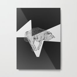 Meow Forever Metal Print